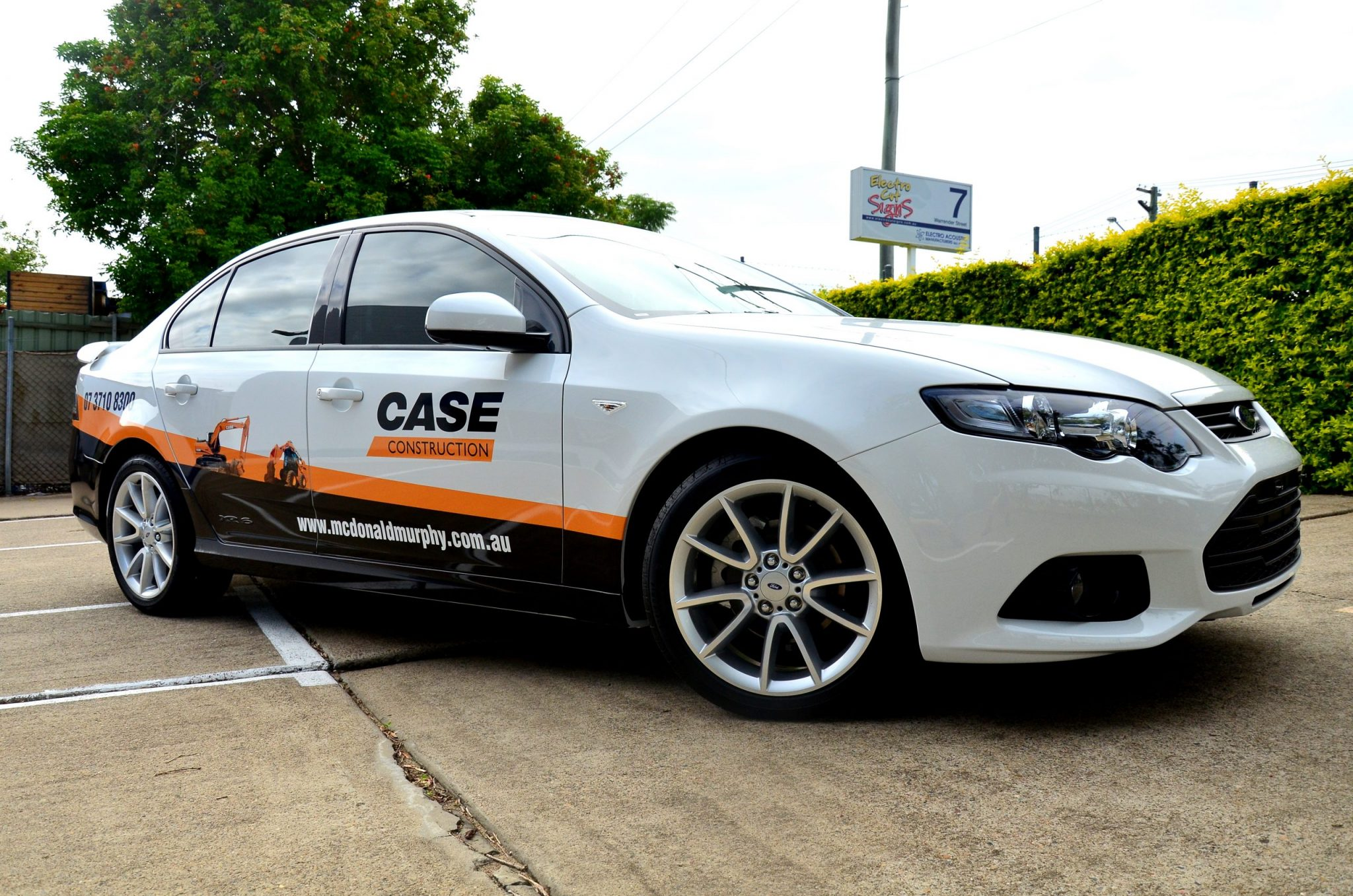 car wrap brisbane