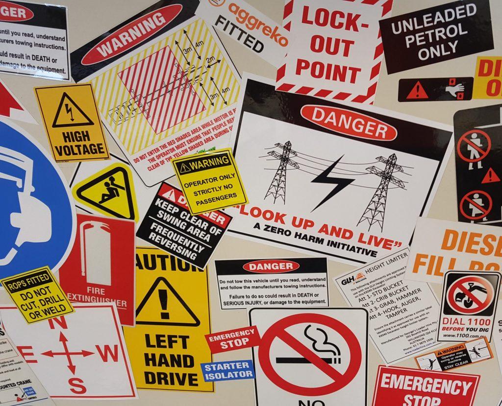 safety signs australia