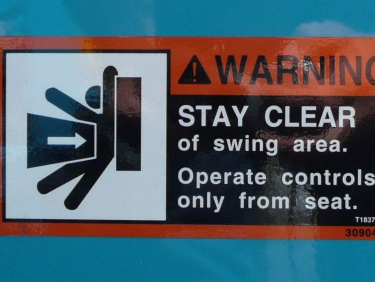 warning decals brisbane